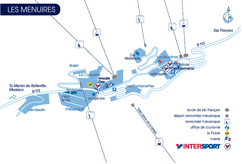 Contacter intersport les m nuires intersport - Office de tourisme menuires ...